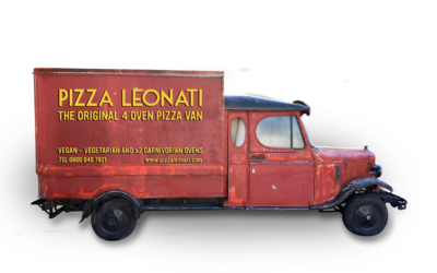 The UK's only 4 Oven Pizza Van