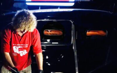Our new mobile pizza vehicle. The world's first 3 oven London Pizza Taxi.